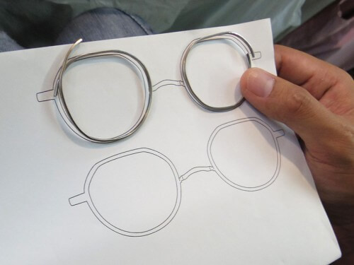 仕事体験・眼鏡職人m