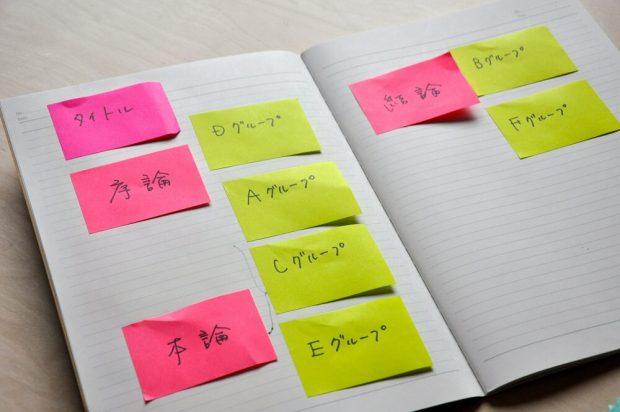 ふせんノート勉強法③