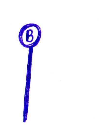3色ボールペンイラストバイト1