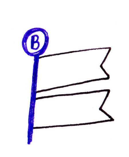 3色ボールペンイラストバイト2