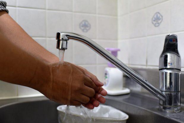 入念な手洗い