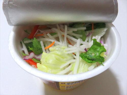 ちょい足しカップ麺5