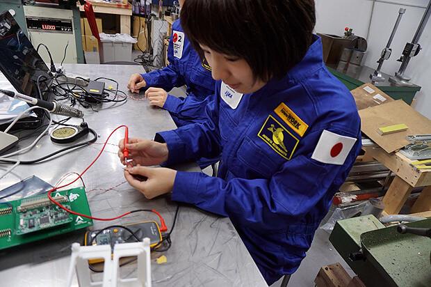 人工衛星キット「ARTSAT KIT」製造サポートバイト_10