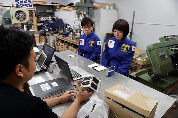 人工衛星キット「ARTSAT KIT」製造サポートバイト_05