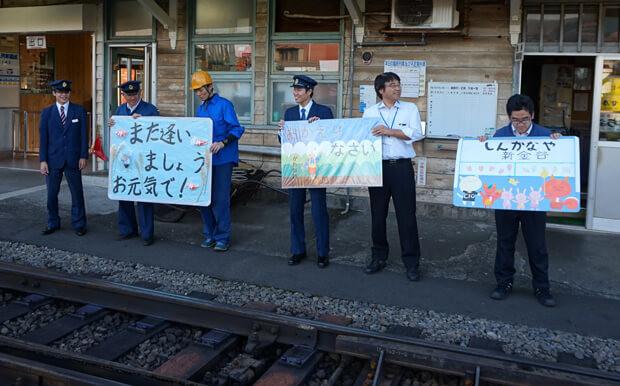 大井川鐵道SL始発駅の1日駅長バイト_47