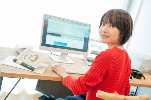 塩谷舞 milieu 編集長 Web マガジン 美術 デザイン タウンワーク タウンワークマガジン