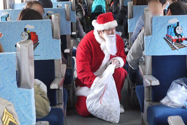 激レアバイト きかんしゃトーマス クリスマス サンタ 大井川鐵道 バイト タウンワーク