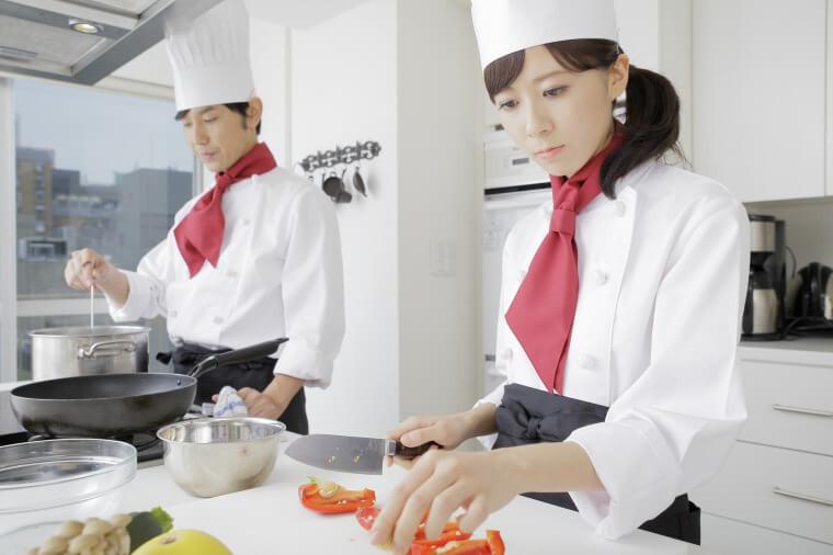 なるには 調理 師 に