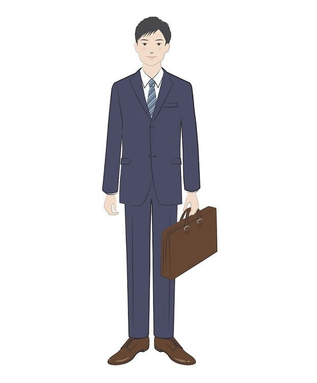 転職面接の男性の服装マナー例