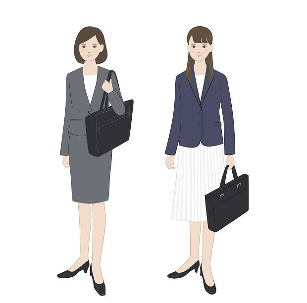 転職面接の女性の服装マナー例
