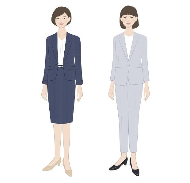 スーツ 女性 転職