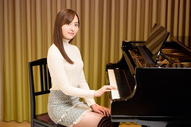 森保まどか HKT48 アイドル ピアノ タウンワーク townwork